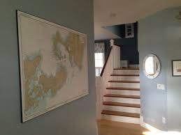 Woods Hole Nautical Chart 13235 Photo Framed Wall Decor