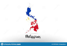 Logo Designers Of The Philippines Philippines Country Flag Inside Map Contour Design Icon Logo