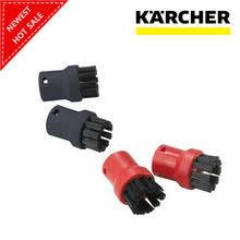 4 шт./лот, щетки для чистки пара, <b>круглая щетка для</b> Karcher ...