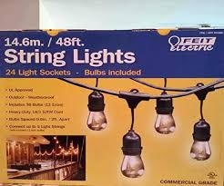 lavishly outdoor string lights costco enchanting led flood ideas with home flicker outside