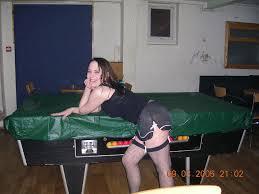 Lesbians on pool table