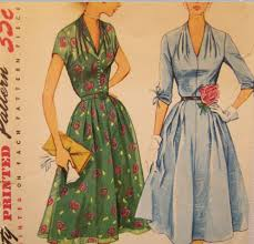 50s Style Dress Patterns New Decoration