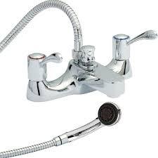 image of portable shower attachment for bathtub faucet