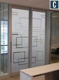 office glass door. Frosted Glass Vinyl For Privacy Office Door