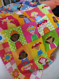 70 best 24 TONI ALEXANDER QUILTS images on Pinterest | Applique ... & Tiny Princesses quilt from the