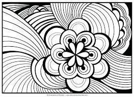 coloring pages printable mandala abstract colouring for free s pa
