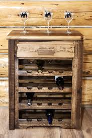Rustic wine rack table Wood Box Homestead Rough Sawn Wine Rack Cabinet Log Furniture Place Rustic Wine Cabinets And Log Wine Storage