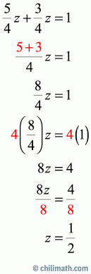two step equations practice problems