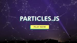 Particle Backgrounds Web Design How To Make Website Moving Particles With Html Css Particles Js