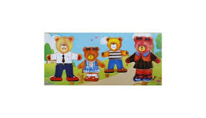 Игра-<b>пазл</b> Четыре медведя <b>QiQu Wooden Toy</b> Factory — купить в ...