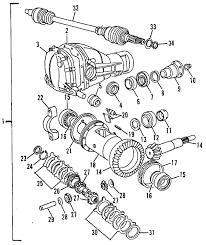 parts com® volvo washer partnumber 6814623 1997 volvo 960 base l6 2 9 liter gas differential