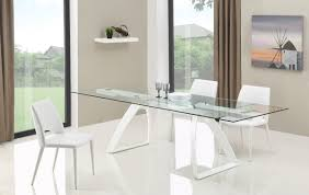 harvey dining table and chairs. modrest harvey modern extendable glass dining table and chairs