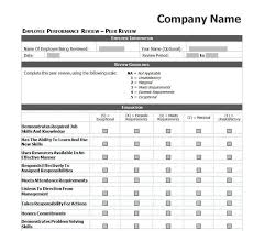Employee Evaluation Template Delectable 44 Employee Evaluation Forms Performance Review Examples Form D Nayvii