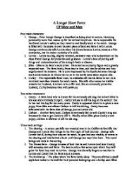 of mice and men essay outline co of mice and men essay outline