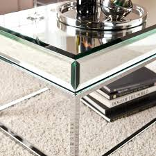 silver mirrored coffee table coffee tables amazing silver rectangle classic metal mirrored coffee table ideas high
