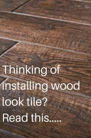 wood tile flooring. Pictured: Wood Look Tile Flooring T