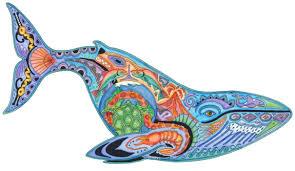 blue whale liberty puzzles 6