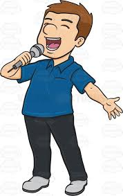 Image result for singing solo clipart