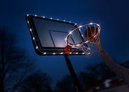 Basketball Hoop Led Light Brightz Hoopbrightz Led Basketball Hoop And Backboard Accessory Light