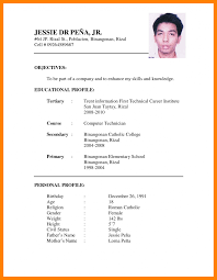 Resume Cv Andume Format Download Job Latest Sample Pdf Classy