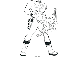 Power Ranger Coloring Pages To Print Power Rangers Coloring Pages