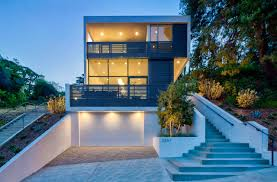 Echo Landscape Design The Echo House Is Spread Over Three Floors That Follow The