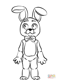 Coloring Pages Enjoyable Fnaf Coloring Pages Foxy All Characters
