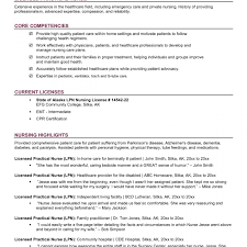 Excellent Sample New Lpn Resume Photos Example Resume And