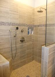 Tiled Walk In Shower No Door Decoration Ideas Painting Of Pact And  Accessible Bathroom Ideas With