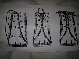 aussie lace up dog shoes
