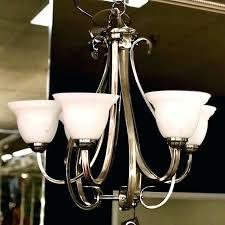 progress lighting alexa 4 light brushed nickel chandelier consign to design progress lighting chandelier