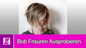 Bob Frisuren Ausprobieren Ideen Youtube