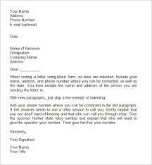 Business Letter Formatting Template Unique Standard Business Letter Format Template Proper Business Letter