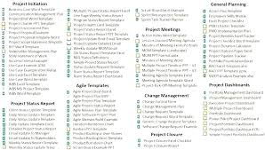 Project Templates Word Project Portfolio Template Word Theme Free Software