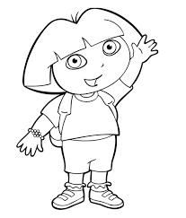 Dora L Exploratrice 6 Disegni Per Bambini Da Colorare