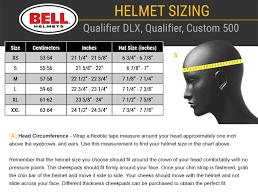 Bell Qualifier Dlx Size Chart Bell Qualifier Dlx Blackout Helmet Matte Black