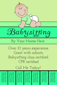 babysitting schedule template 100 customizable design templates for babysitting postermywall