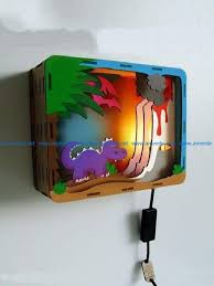 nightlight wall mounted file cdr and