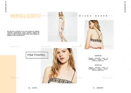 fashion lookbook 26 pages