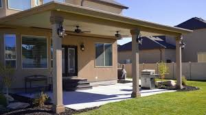 custom wood patio covers. Stucco Trim Patio Covers In Utah | Boyd\u0027s Custom Patios Pertaining To Patio  Cover Wood P