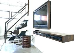 Floating Shelves For Dvd Player Etc Mesmerizing Floating Shelves For Dvd Players Wall Shelf Player View Larger Wood
