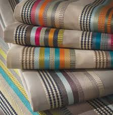 Stripe Designer Fabric Osborne And Little Valli Stripe Fabric Designer Fabrics