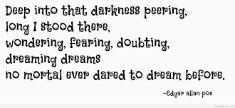 Image result for edgar allan poe dream