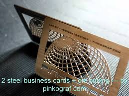Steel Business Cards Metal Business Cards Steel Or Aluminium Printed Full Colors Youtube
