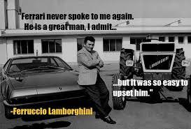 This motivational video is about sports cars ferrari success story in hindi, enzo anselmo ferrari, cavaliere di gran croce omri was an italian motor racing d. Enzo Ferrari Lamborghini Story