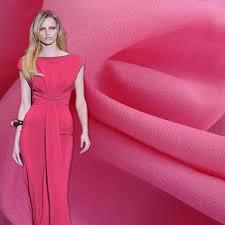 <b>Dress Fabric</b> Faux Silk Elastic Comfortable Crepe De Chine <b>Chiffon</b> ...