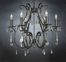 wrought iron crystal chandelier the aquaria intended for popular residence wrought iron and crystal chandelier remodel