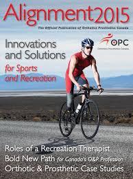 Sudbury Prosthetic And Orthotic Design Alignment Magazine 2015 By Orthotics Prosthetics Canada Opc
