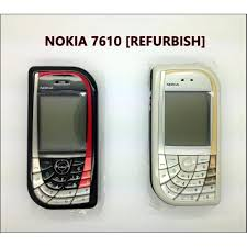 nokia 7610. nokia 7610 fullset come with box,charger and battery [refurbish]