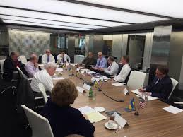 ambassador of ukraine to the u s valeriy chaly partited at the round table enhancing ukraine s national security strengthening its military and